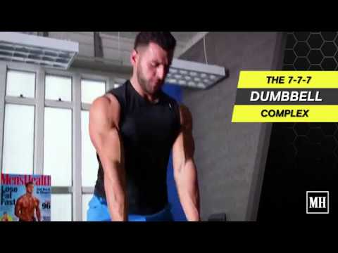 7-7-7 Dumbbell Complex Dumbbell Complex Created by Men's Health