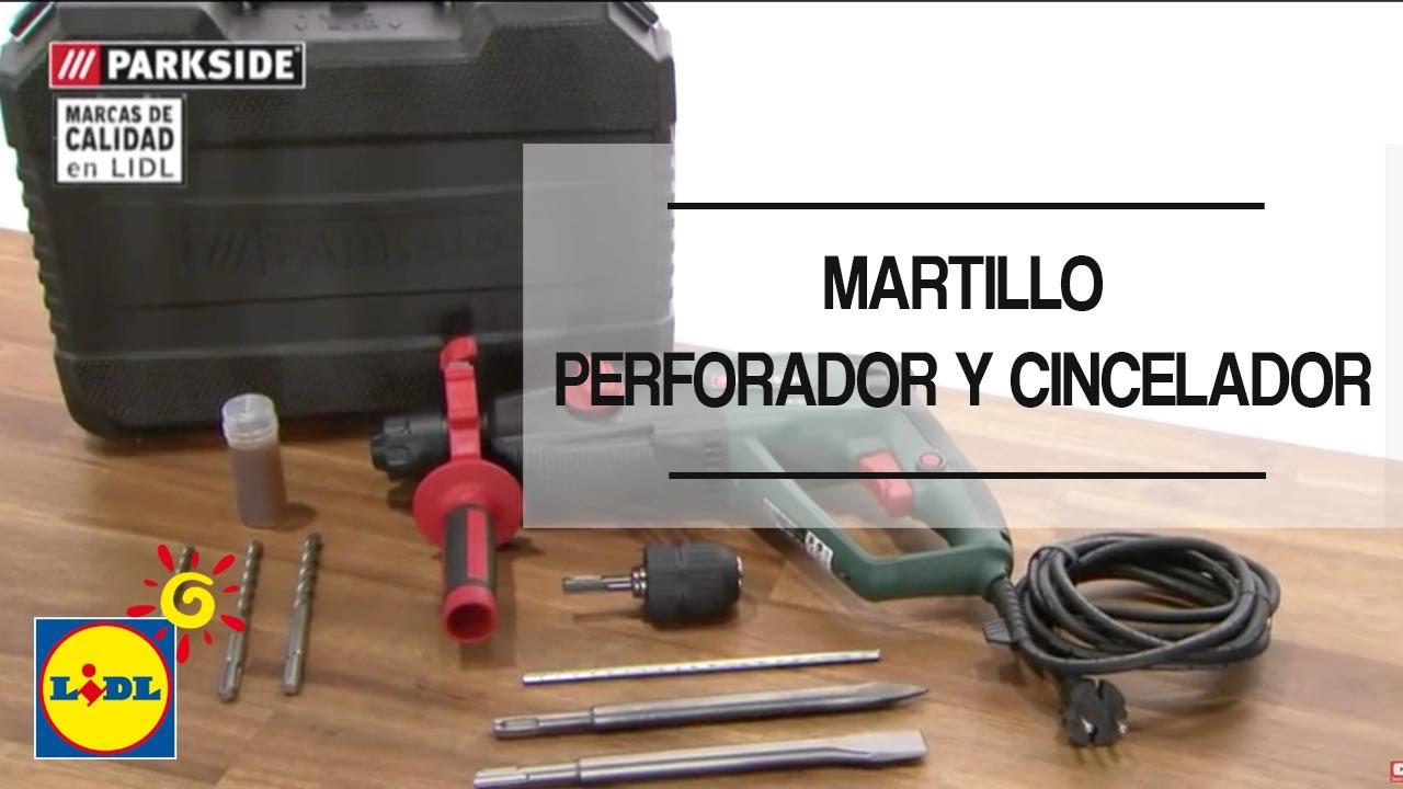 Martillo Perforador y Cincelador - Lidl España - YouTube