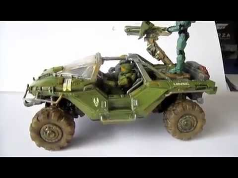 Special : HALO Warthog Revell 1:32 Finish Painted!