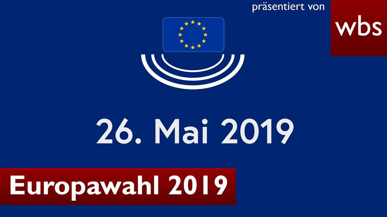 Europawahl 2019 - alle wichtigen Infos