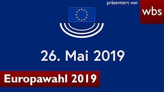 Alle wichtigen Infos zur Europawahl 2019 - einfach erklärt! | Rechtsanwalt Christian Solmecke