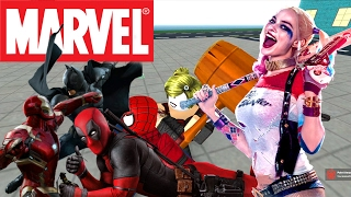 ROBLOX MARVEL & DC - CHOOSE SUPERHEROE AND FIGHT!!! - Spanish Gameplay