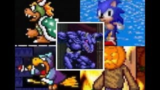 Super Mario Blue Twilight DX all bosses
