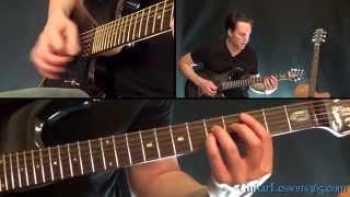 Eye of the Tiger Guitar Lesson - Survivor