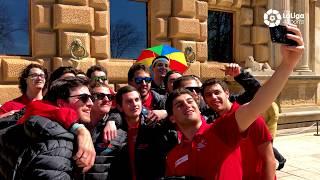 Un día de descanso con la selección nacional de hockey hielo en la Alhambra