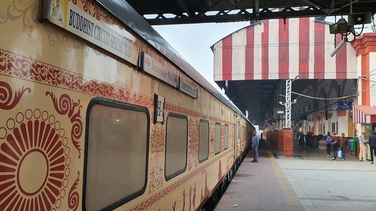 India Kembali Promosikan Kereta Jalur Buddhis Pasca Pandemi