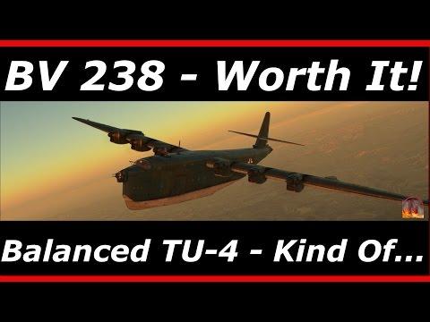 War Thunder || BV 238 - Premium Plane Review