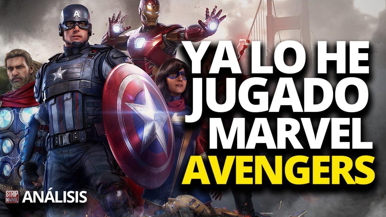 Marvel's Avengers: OPINIÓN SINCERA. Ya lo he jugado.