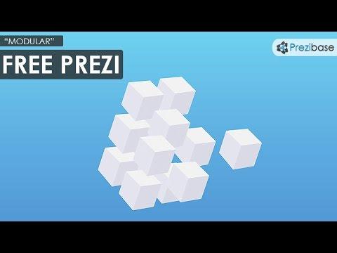 Free Prezi Templates | Modular Free Prezi Template Youtube