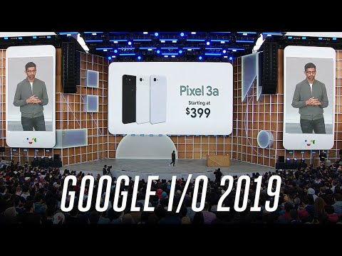 The 8 biggest announcements from the Google I/O 2019 keynote
