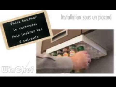 Carrousel pices motoris winchef installation facile sous un placard de cuisine youtube for Placard de cuisine