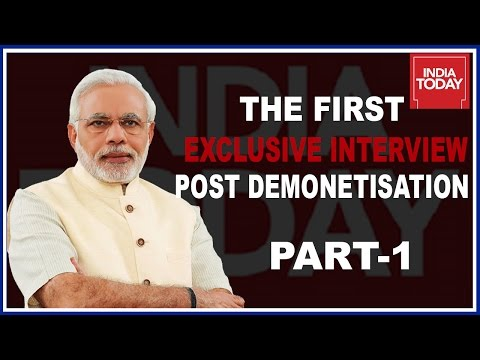 Inside Details Of Narendra Modi's First Interview Post Demonetization | Part 1