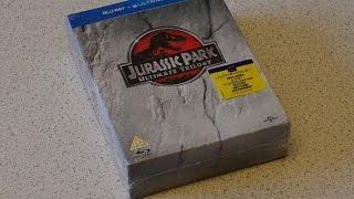 Розпакування Jurassic Park Ultimate Trilogy на Blu-ray