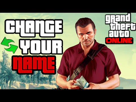 Change/Edit Your GTA V Nickname 2015