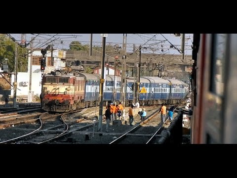 KOTA to DURG - Full Journey Via BHOPAL (Part 1) : INDIAN RAILWAYS