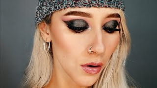 GRIS -  gray makeup - Alisson Ríos B - j balvin - colores