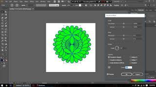 How to make Mandala with Shape tool and Pathfinder within 3minutes Tutorial