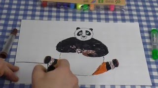 PANDA PO-DRAWING TOGETHER