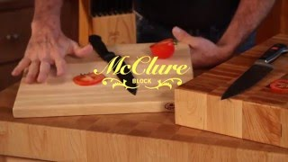 Hardwood Cutting Boards McClure Block Butcher Block Wood Cutting Boards