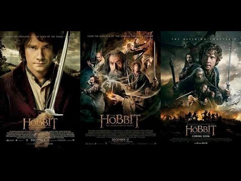 The Hobbit Trilogy (2012--2014) - Movie Review - YouTube