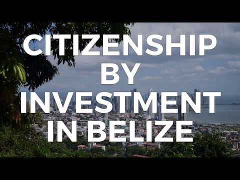 CITIZENSHIP BY INVESTMENT IN BELIZE
