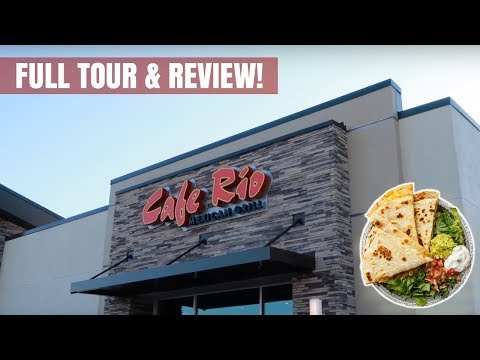 First Cafe Rio Mexican Grill Restaurant In Florida (Full Tour & Review!)