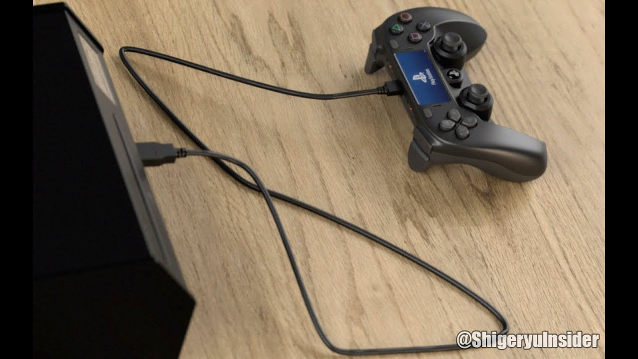 Making of Fake PS5 Devkit controller