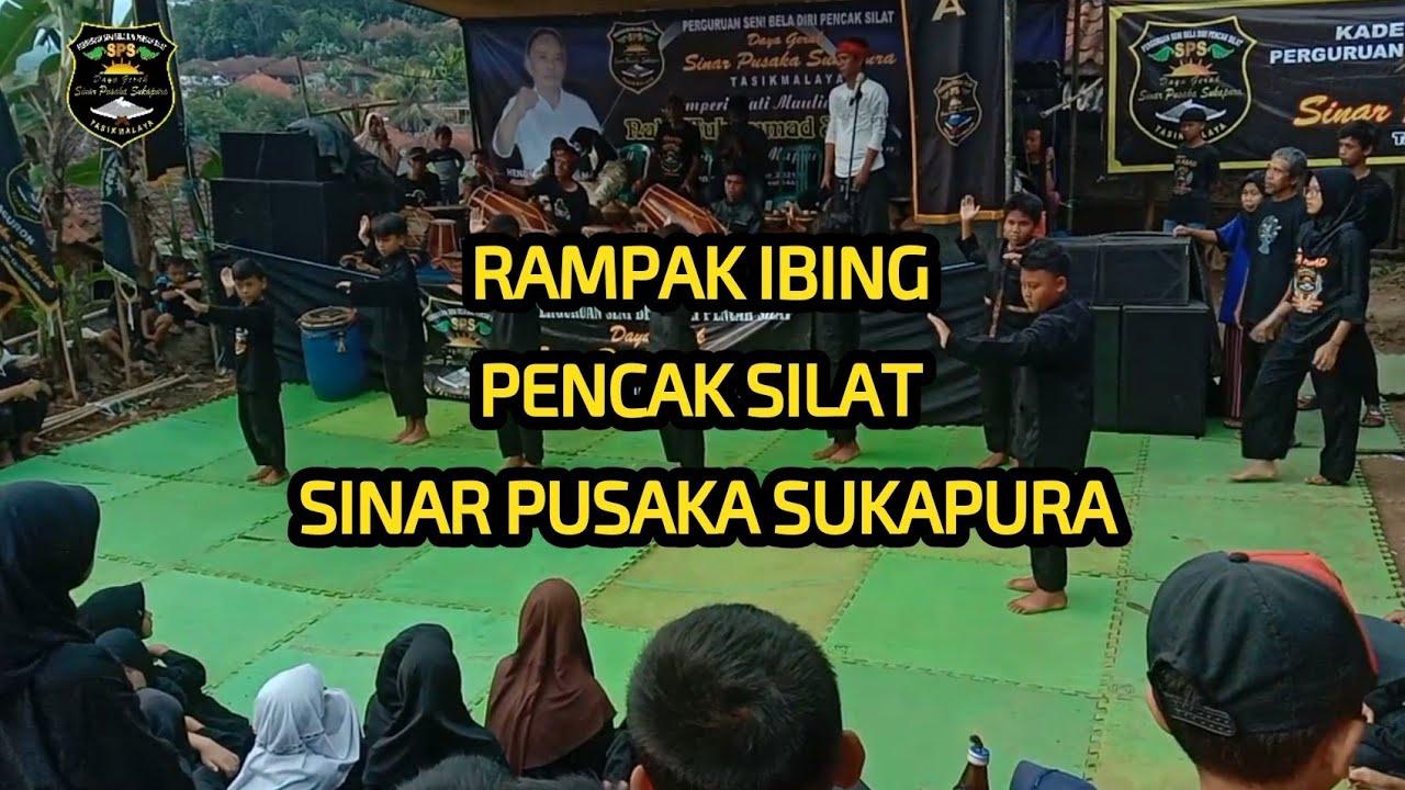 penampilan siswa baru perguruan pencak silat Sinar Pusaka Sukapura,, Rampak Ibing tepak Paleredan..