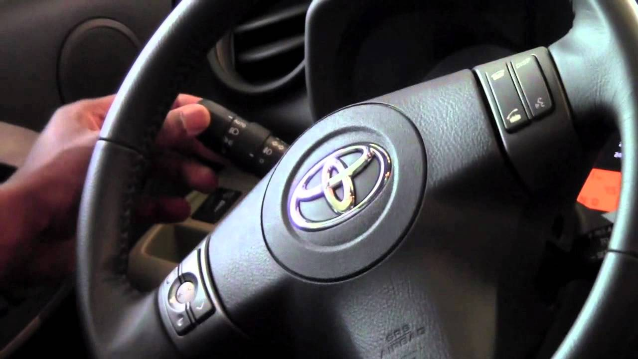 2011 toyota rav4 headlight controls how to by. Black Bedroom Furniture Sets. Home Design Ideas