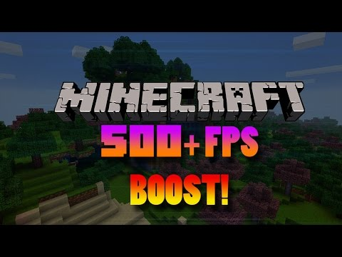 500+ FPS!  Best Optifine 1.8 Settings For Minecraft NO LAG! - Minecraft Tutorials