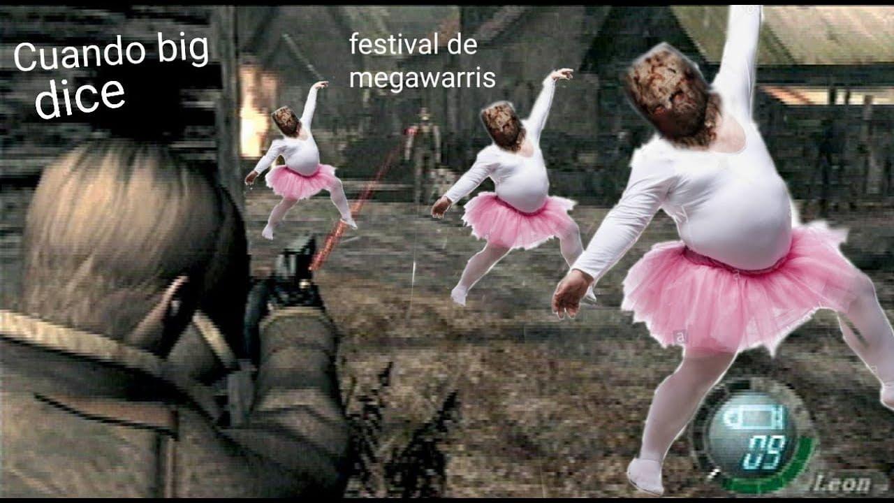 Resident evil 4 - Mod Prison Of The Evil - Parte 9 - FESTIVAL DE MEGAWARRIS AHORA DE VERDAD