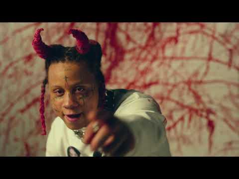 Смотреть клип Trippie Redd Ft. Ski Mask The Slump God - Demon Time