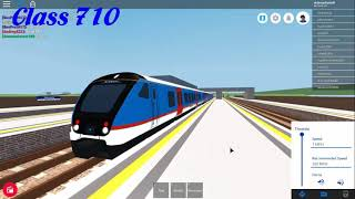 Roblox Mind the Gap Trains Departs Part 2 (16.09.17r)