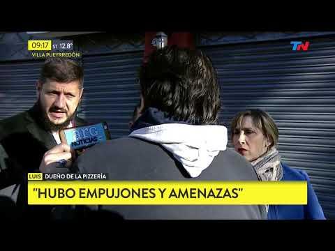 Violento asalto a pizzería en Villa Pueyrredon