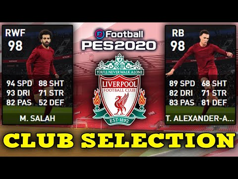 🔥Liverpool Club Selection🔥PES 2020 Mobile 25/05/20👀Обзор Спецвыпуска