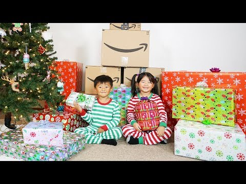 Christmas Presents and Surprise Toys Opening from Amazon's 2018 Holiday Toy List