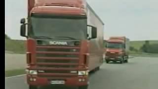 Уроки по технике вождения фуры в экстремальных ситуациях
