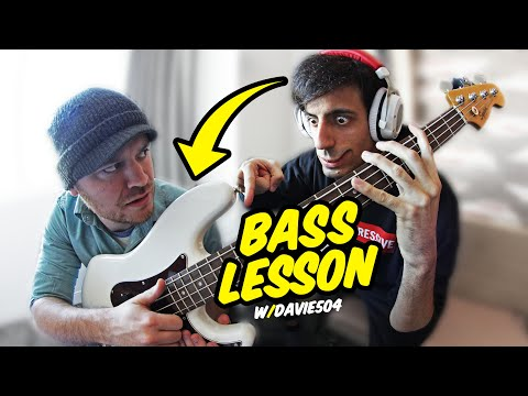 Slap Bass Lesson W/ Davie504