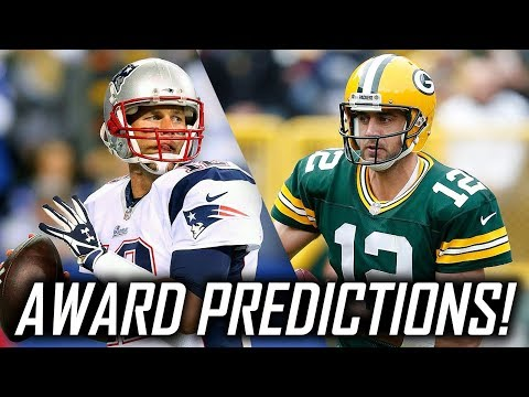 2017-18 NFL Season Award Predictions! MVP, Offensive Player of the Year, and More!