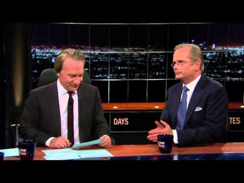2016 Dem Pres Candidate Lawrence Lessig gets no traction w/Bill Maher on Debate Shutout