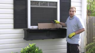 Part 2 - The Window Box Guy™, (732) 701-7561, Controll Your Soil , Window Boxes, Window Planters