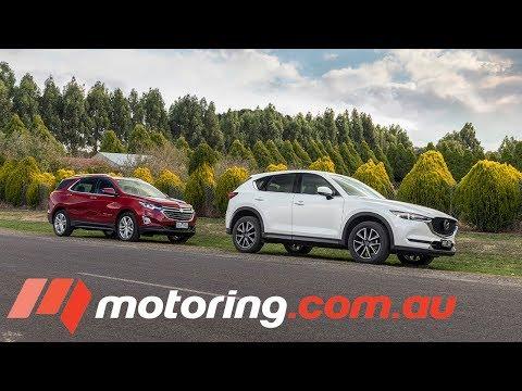 2018 Mazda CX-5 v Holden Equinox LTZ-V | motoring.com.au