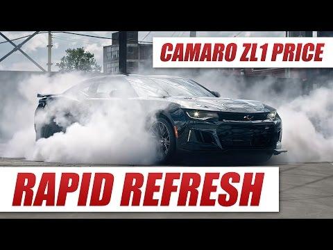 2017 Camaro ZL1 Price and 0-60 Time Revealed