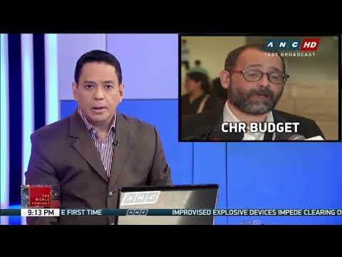 CHR budget cut boosts Hague case vs Duterte: expert