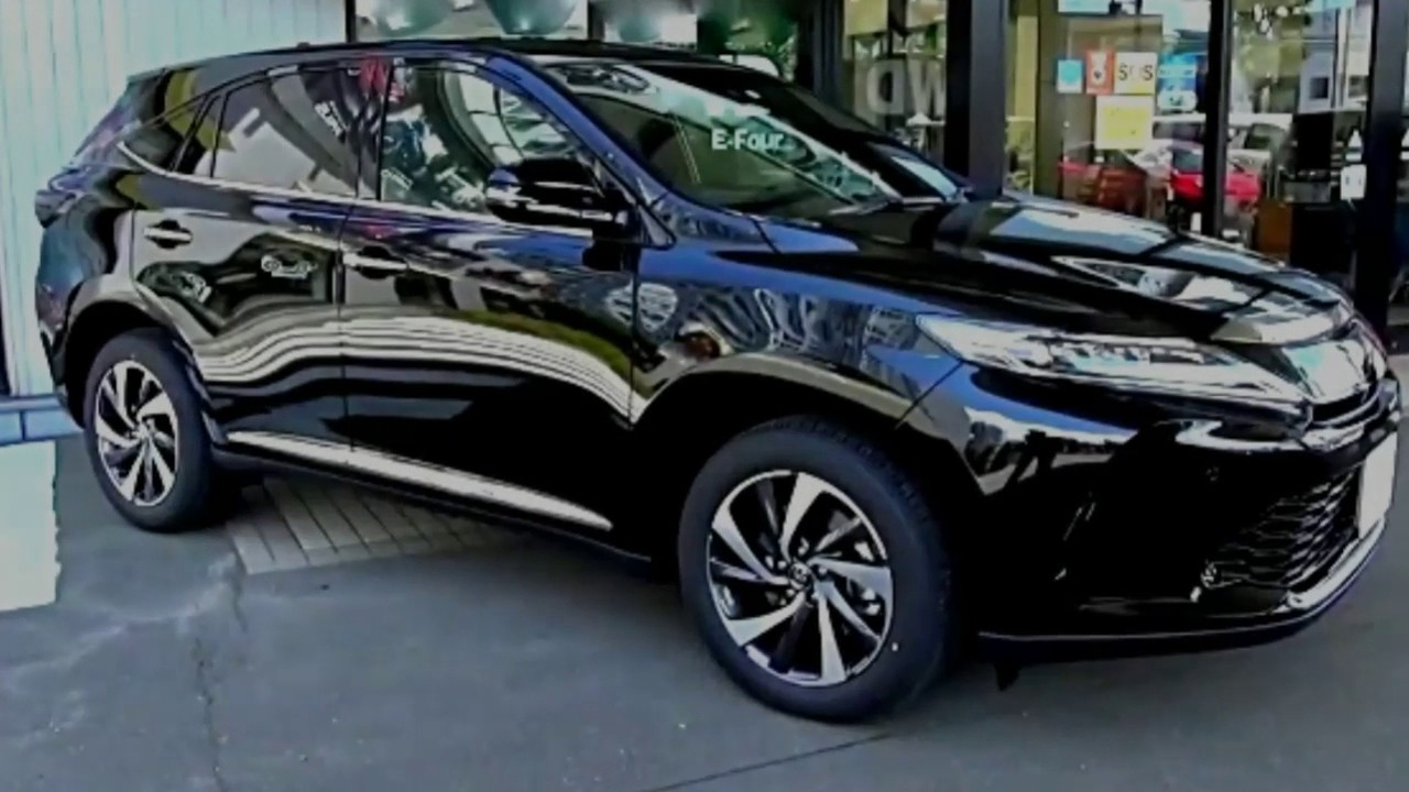 2018 toyota harrier turbo first look desgn   youtube