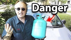 Don't Buy Cars that Use this New Type of Refrigerant in the AC System