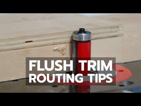 Flush trim routing youtube flush trim routing maxwellsz