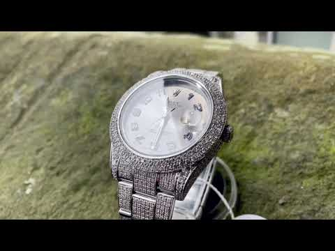 DIAMOND SET ROLEX DATEJUST 41! - UK SPECIALIST WATCHES