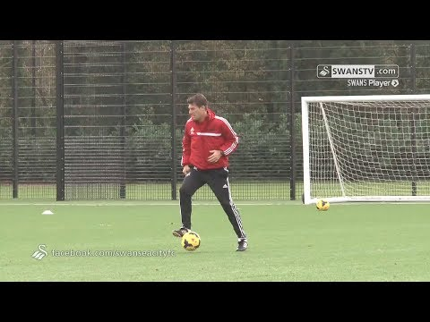 Swansea City Video: Training - 30th October 2013