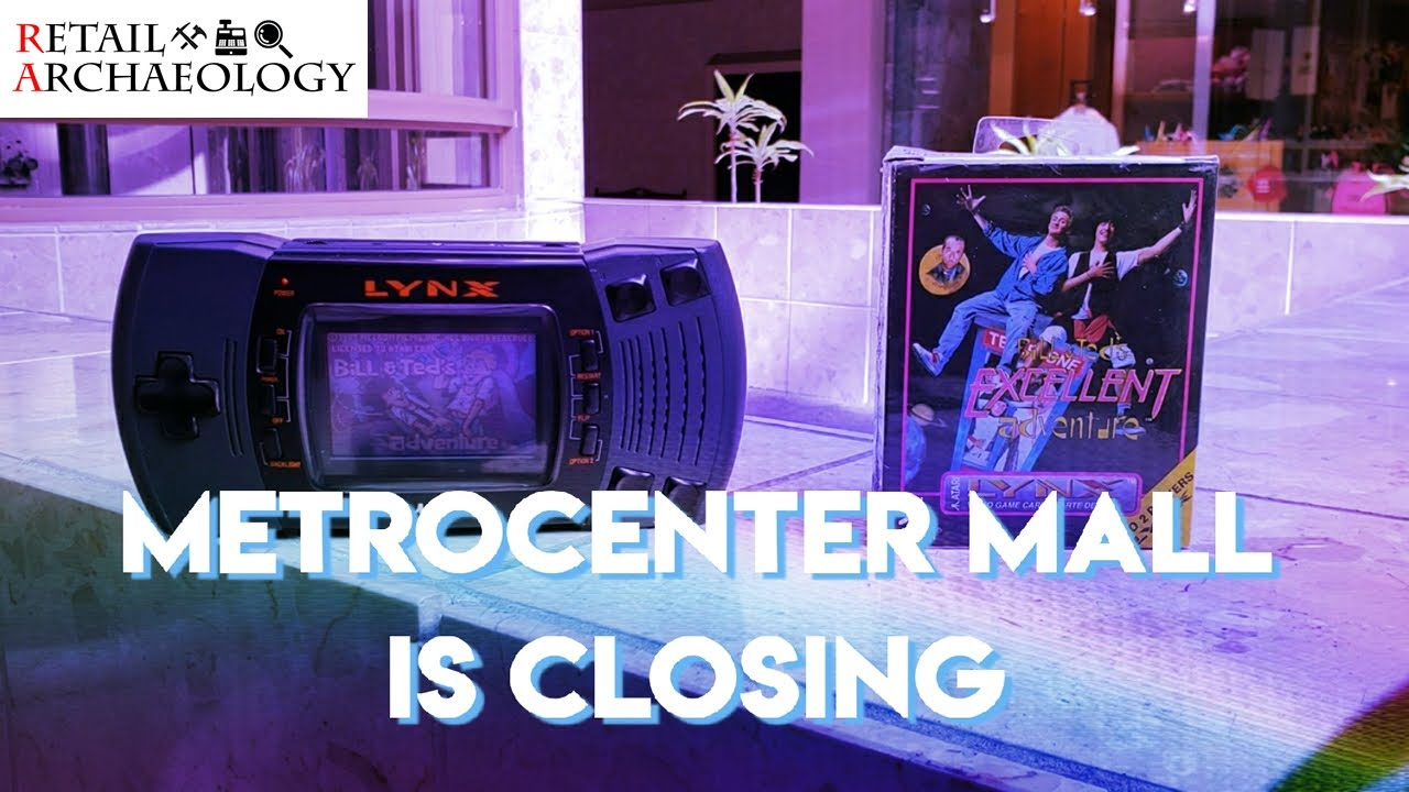 Metrocenter Mall Is Closing   Bill & Ted's Excellent Dead Mall Adventure
